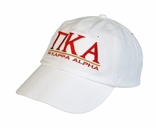 Pi Kappa Alpha World Famous Line Hat - MADE FAST!