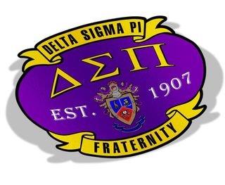 Delta Sigma Pi Banner Crest - Shield Decal