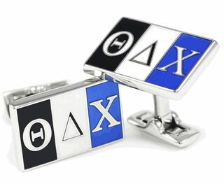 Theta Delta Chi Cuff Links