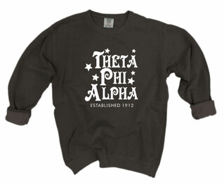 Theta Phi Alpha Comfort Colors Old School Custom Crew