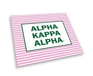 Alpha Kappa Alpha Striped Mousepads