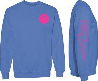 Delta Gamma Comfort Colors Lightning Crew Sweatshirt