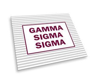 Gamma Sigma Sigma Striped Mousepads