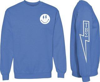 Tau Beta Sigma Comfort Colors Lightning Crew Sweatshirt
