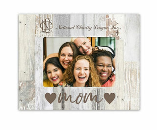 National Charity League Faux Wood Picture Frame