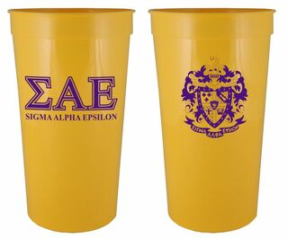 Sigma Alpha Epsilon Big Crest Stadium Cup