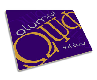 Fraternity & Sorority Alumni / Alumna Hard Mousepad