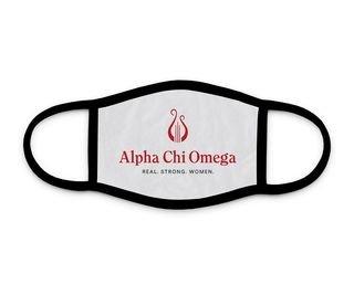 Alpha Chi Omega Logo Face Mask