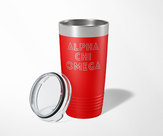 Alpha Chi Omega Modera Tumbler