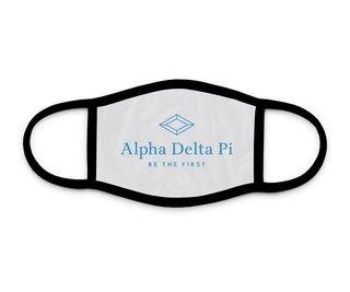 Alpha Delta Pi Logo Face Mask