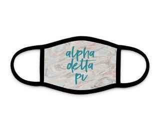 Alpha Delta Pi Marble Face Mask