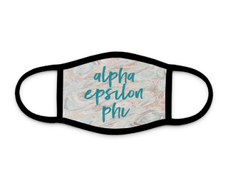 Alpha Epsilon Phi Marble Face Mask
