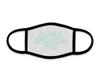 Alpha Epsilon Phi Modera Face Mask
