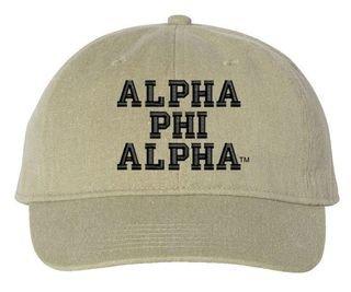 Alpha Phi Alpha Pigment Dyed Baseball Cap
