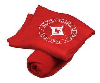 Alpha Sigma Alpha Sweatshirt Blankets
