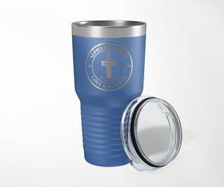 Alpha Tau Omega Crest Seal Tumbler