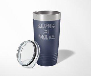 Alpha Xi Delta Modera Tumbler