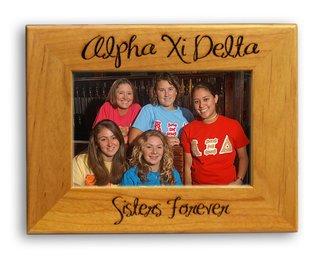 Alpha Xi Delta Picture Frame