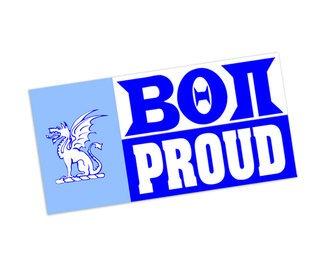 Beta Theta Pi Proud Bumper Sticker - CLOSEOUT