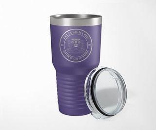 Delta Sigma Phi Crest Seal Tumbler