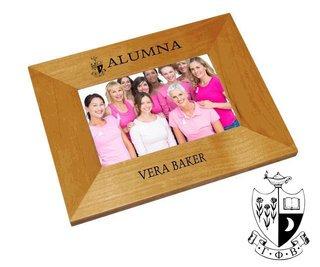 Gamma Phi Beta Alumna Crest - Shield Frame
