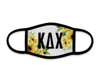 Kappa Delta Chi Sunflower Face Mask