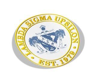 Lambda Sigma Upsilon Circle Crest - Shield Decal