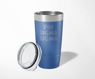 Phi Sigma Sigma Modera Tumbler