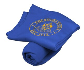 Phi Sigma Sigma Sweatshirt Blankets