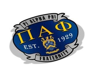 Pi Alpha Phi Banner Crest - Shield Decal