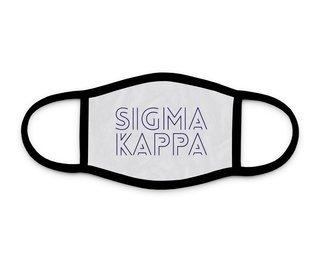 Sigma Kappa Modera Face Mask