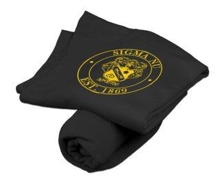 Sigma Nu Sweatshirt Blanket