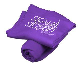 Sigma Sigma Sigma Sweatshirt Blankets