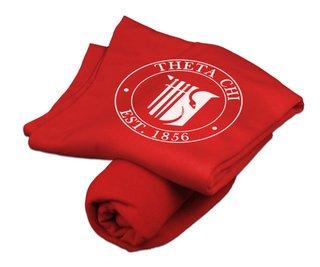 Theta Chi Sweatshirt Blanket