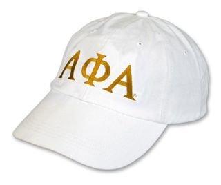 Alpha Phi Alpha Letter Hat