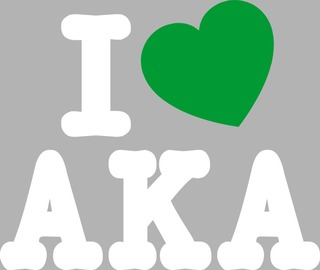 Alpha Kappa Alpha I Love Sticker