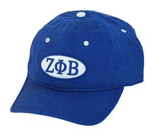 Zeta Phi Beta Throwback Oval Game Hat