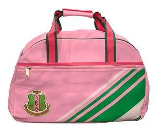 Alpha Kappa Alpha Pink & Green Sport Bag