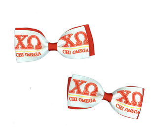 Chi Omega Bows (Set of 2)