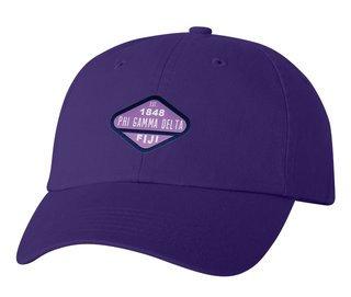 DISCOUNT-FIJI Fraternity Woven Emblem Hat