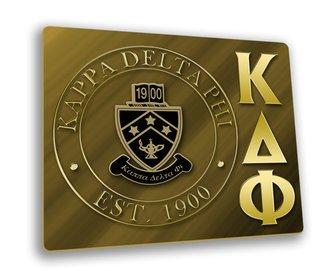 Kappa Delta Phi Hard Mousepads