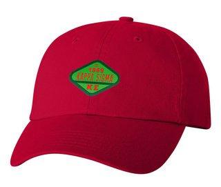 DISCOUNT-Kappa Sigma Woven Emblem Hat