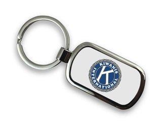 Kiwanis Chrome Key Chain