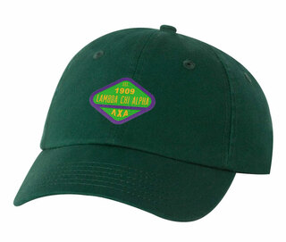 DISCOUNT-Lambda Chi Alpha Woven Emblem Hat