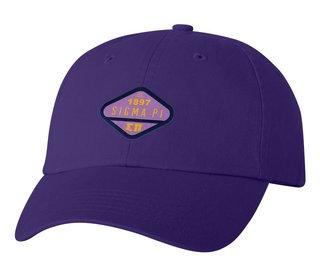 DISCOUNT-Sigma Pi Woven Emblem Hat