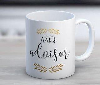 Alpha Chi Omega Advisor Coffee Mug