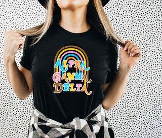 Alpha Gamma Delta Comfort Colors Joy Tee