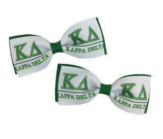 Kappa Delta Bows (Set of 2)