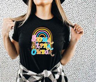 Sigma Alpha Omega Comfort Colors Joy Tee