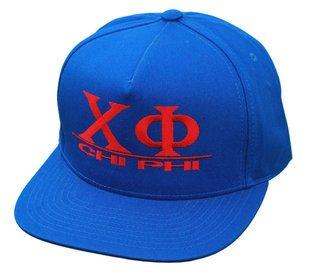 Chi Phi Flatbill Snapback Hats Original